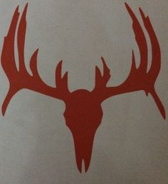 Buck Decal Truck or Car Window Sticker Country Life Redneck Skull Bones Hunting | eBay