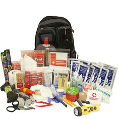 Urban Survival Preparedness and Disaster Survival 2-person Bug Out Bag - Overstock™ Shopping - The Best Prices on 72-Hour Kits