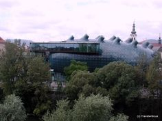 Kunsthaus (Museum of Contemporary Art) in Graz, Austria
