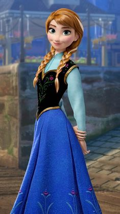 Anna From 'Frozen' Halloween Costume Is Easier to Build Than a Snowman —PHOTOS