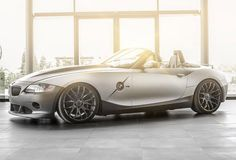 Have you been wondering what the guys at Carlex Design are up to? Stop doing that,' cause I've got news. The garage has introduced its latest project, based on the first generation BMW Roadster. Dubbed BMW Rampant, the project benefits from a Bmw Z4 M, Convertible, Bmw Z4 Roadster, Bmw Classic Cars, Transportation Design, Automotive Design, Amazing Cars, Dream Cars, Antique Cars