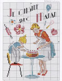 Les Brodeuses Parisiennes Creation Point de Croix №51 2015