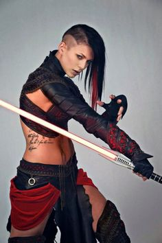 Star Wars: Sith Cosplay (Miss Sinister) Action Pose Reference, Human Poses Reference, Pose Reference Photo, Action Posen, Sword Poses, Fighting Poses, Figure Poses, Poses References, Dynamic Poses