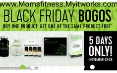 BOGO Sale on these products. Ultimate body applicator Essential oils plus defussor Cleanse FatFighters