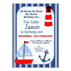 Pirate Birthday, 2nd Birthday Parties, Birthday Fun, Birthday Ideas, Sailing Party, Nautical Birthday Invitations, Sailor Theme, Nautical Party, Anchor Party