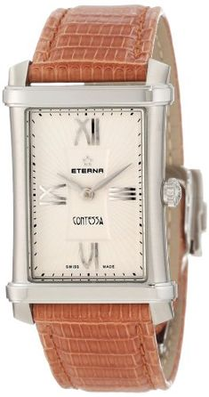 Eterna Women's 2410.41.65.1198 Contessa Two-Hands Watch >>> To view further for this item, visit the image link.(It is Amazon affiliate link) #pretty