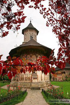 Moldovita - painted monastery. The painted monasteries of Bucovina, Northern Romania, by Cosmin Danila