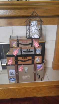 Harry Potter suitcase Easter baskets
