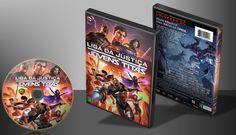 Liga Da Justiça - Jovens Titãs - Capa | VITRINE - Galeria De Capas - Designer Covers Custom | Capas & Labels Customizados
