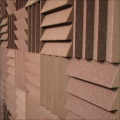 Sound proofing on a wall
