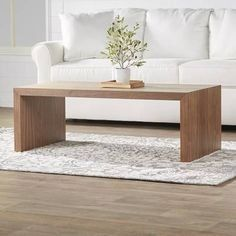 Dreshertown Bentwood Coffee Table In 2020 Coffee Table Rectangle