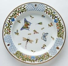 Anna Weatherley Spring in Budapest pierced plate