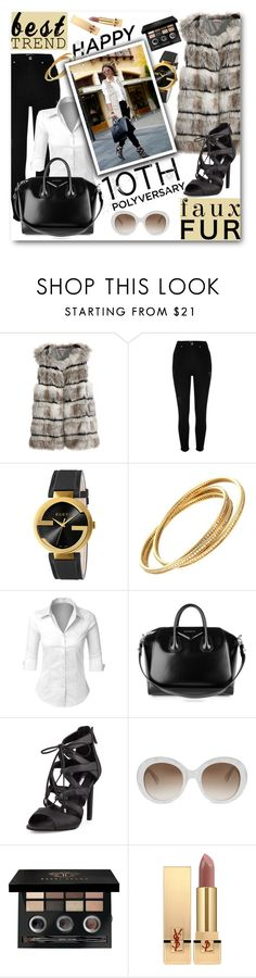 """""""Celebrate Our 10th Polyversary!"""" by pomy22 ❤ liked on Polyvore featuring Calypso St. Barth, River Island, Gucci, LE3NO, Givenchy, BCBGeneration, Bobbi Brown Cosmetics, Yves Saint Laurent, polyversary and contestentry"""