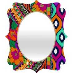 Aimee St Hill Ayanna Quatrefoil Mirror | DENY Designs Home Accessories