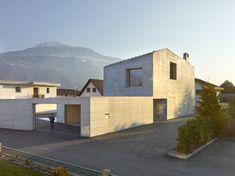 Sichtbeton mit Aussicht: Haus Fabrizzi Foto: Thomas Jantscher