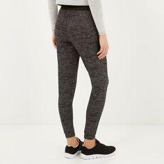 Dark grey neppy light joggers