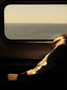 train trip / me recuerda al trayecto Bcn-Vilanova y me enamoro más <3