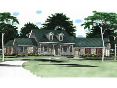 Sicily Rustic Ranch Home Plan 111D-0016 | House Plans and More