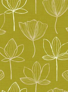 linear botanical - john lewis nice and simple and easily repeatable Textile Patterns, Flower Patterns, Print Patterns, Surface Pattern Design, Pattern Art, Linear Pattern, John Lewis Wallpaper, Motif Floral, Floral Fabric