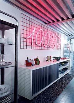 <p>In the center of Milan, in Via Tortona, the iconic architect and interior designer Paola Navone has reserved herself the top floor of this renovated factory who's hosting her offices. ""