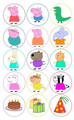 Peppa pig step by step drawing. How to draw Peppa pig easy Peppa pig step by step drawing. How to draw Peppa pig easy Cumple George Pig, Peppa E George, George Pig Party, Peppa Pig Birthday Cake, 2nd Birthday, Peppa Pig Cakes, Birthday Celebration, Birthday Ideas, Peppa Pig Printables