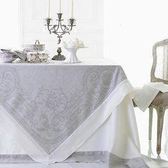 Pure Linen Tablecloths And Napkins - Cologne & Cotton