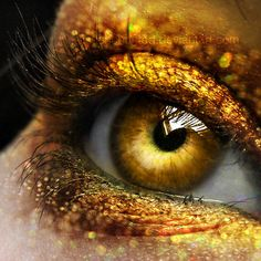 Gold by *EliseEnchanted.All Things GoldDripping Gold by *EliseEnchanted.All Things Gold Pretty Eyes, Cool Eyes, Beautiful Eyes, Half Elf, Tapete Gold, Gold Aesthetic, Apollo Aesthetic, Look Into My Eyes, Shades Of Gold
