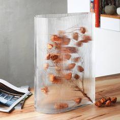 Buy Nude Mist Vase - Clear | Amara