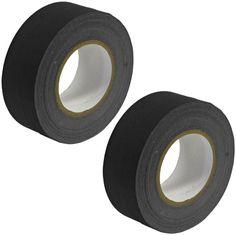 Gaffer's Tape - Black - 2 inch (2 Pack)