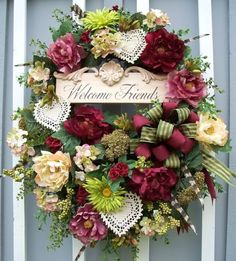 A little shabby but oh so chic!  http://www.timelessfloralcreations.com/