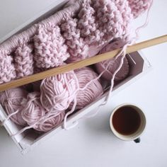 """3,114 Likes, 146 Comments - Olga Prinku (@olgaprinku) on Instagram: """"First cup of the day and then hopefully trying to finish this blanket. If I won't be distracted…"""""""