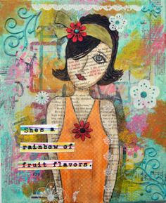 Mixed Media by Susan Dupre