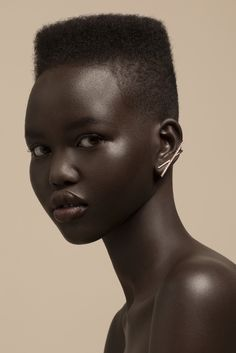 Adut Akech Bior for RYAN STORER Collection Six
