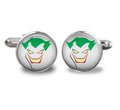 The Joker cufflinks superhero cufflinks cufflinks comic book