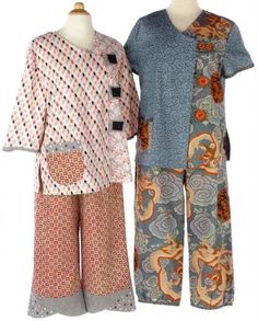 Asian style clothes patterns — photo 3