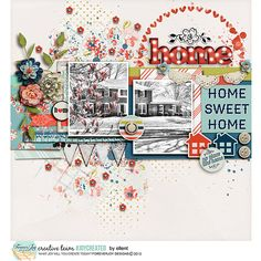 Digital Scrapbooking Kit - COTTAGE CHIC ELEMENT PACK | ForeverJoy Designs