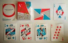 Deck View: The Virts Spring/Summer 2015 Virtuoso Playing Cards | Kardify : Playing Cards News
