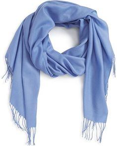 Shop hundreds of Scarves & Wraps deals at once. We've got women's nordstrom tissue weight wool & cashmere scarf, size one size - blue and more. Mature Women Fashion, Girl Fashion, Fashion Outfits, Skinny Scarves, Long Fringes, Fringe Scarf, Cashmere Scarf, Hair Color, Nordstrom