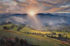 Sundown  by Laura Knight