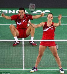 Chris. & Gabby Adcock - Badminton. Mixed Doubles.