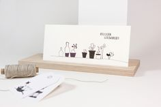 "Postkarte ""Frohe Ostern"". Alle #Stempel von cats on appletrees gibts in unserem DaWanda-Shop."
