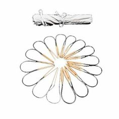 2mm - 12mm Set of 16 x 40cm Circular BAMBOO KNITTING NEEDLES IN COTTON CASE By Curtzy TM: Amazon.co.uk: Kitchen & Home
