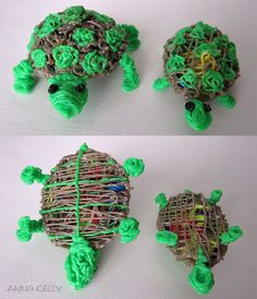 """#whatwillyoucreate? Found a use for my """"wasted"""" plastic...put them in other creations to add bulk and color."""