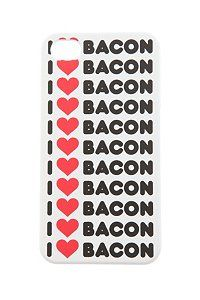 I (HEART) BACON IPHONE CASE