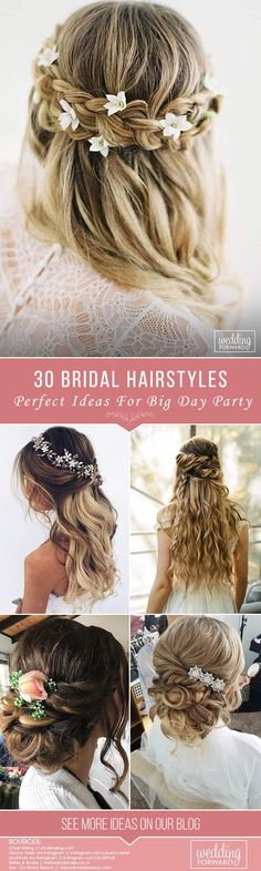 Here your perfect bridal hairstyles!