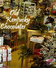 Old Kentucky Bourbon Chocolates, Old Kentucy Derby Mints, Old Fashion Pulled Cream Candy from Old Kentucky Candy - Old Kentucky Chocolates