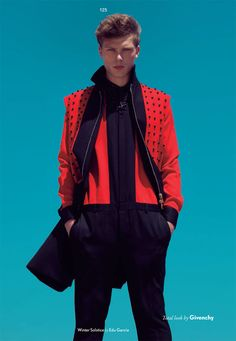 Tommy Kristiansen for Fucking Young wearing Givenchy