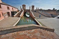 Ponte Pallotta_Comacchio--ferrara