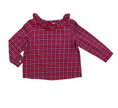 Elfie Red Tartan Grace Shirt. £34.00 + Free P&P.