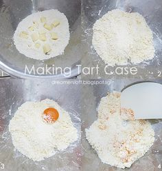 *** As of 3 May have baked 2 more batches of tarts with variations to the recipe. Bake Cheese Tart, Cheese Tarts, Hokkaido Baked Cheese Tart, Puff And Pie, Cheese Tasting, Custard Cake, Egg Tart, Desserts To Make, Cake Flour